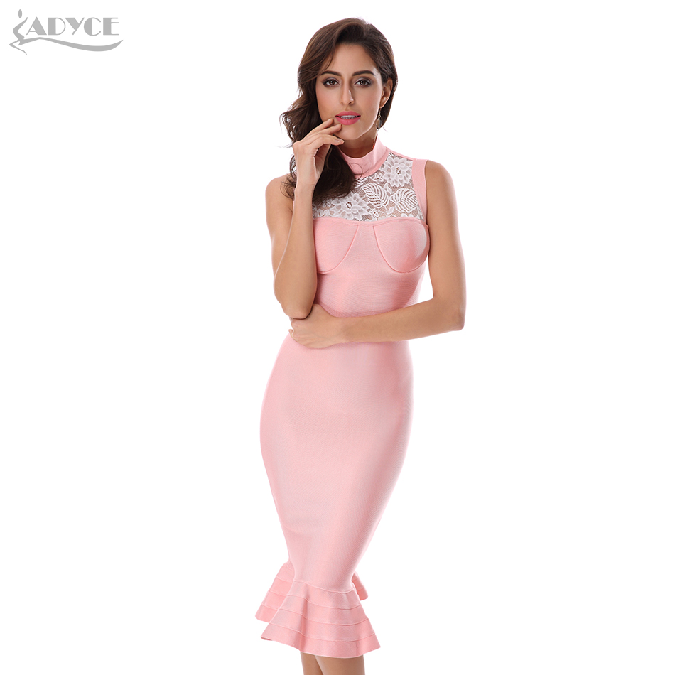 ᗛAdyce 2017 nuevas mujeres verano vendaje vestido soporte ...