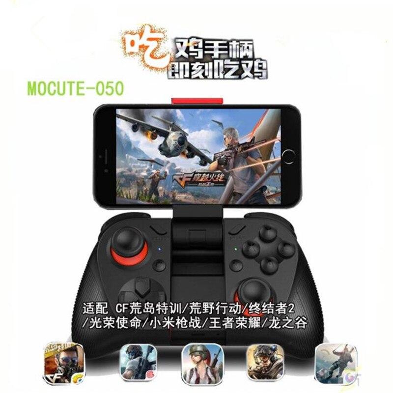 Drahtlose 050 VR Spiel Pad Android Joystick Bluetooth Controller Selfie Fernbedienung Auslöser Gamepad für PC Smart Telefon Halter