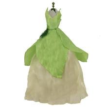 Strapless Dress Fairy-Tale Doll-Accessories Dollhouse Long-Skirt Princess-Gown Handmade