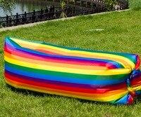 Çin ucuz renkli şişme uyku kanepe uyku hava yastığı şişme hava kanepe