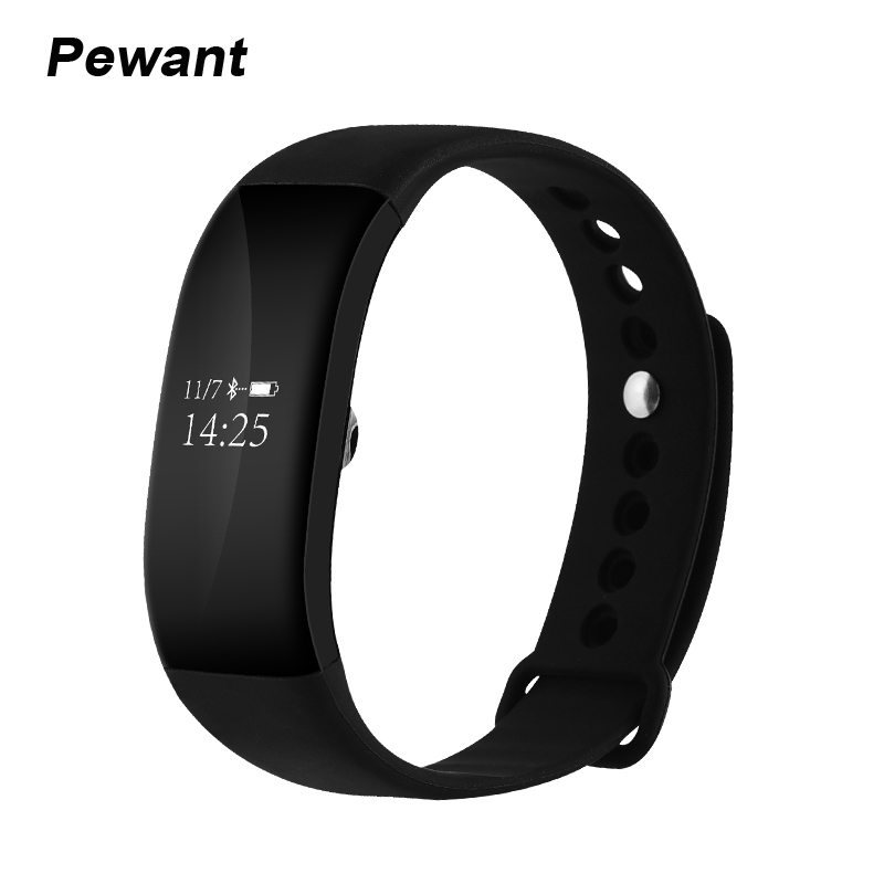 2017 Latest IP68 Waterproof Smart Band OLED Display Wristband For ios iPhone Android Xiaomi Meizu Smartband
