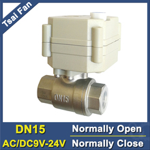 TF15 S2 B DN15 الفولاذ المقاوم للصدأ عادي إغلاق/فتح صمام 2/5 أسلاك BSP/NPT 1/2 التيار المتناوب/DC9V 24V صمام مياه كهربائيelectric water valvewater valvenormally open valve