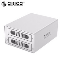 ORICO Tool Free 2 Bay 3 5 Inch SATA To USB3 0 ESATA HDD External Docking
