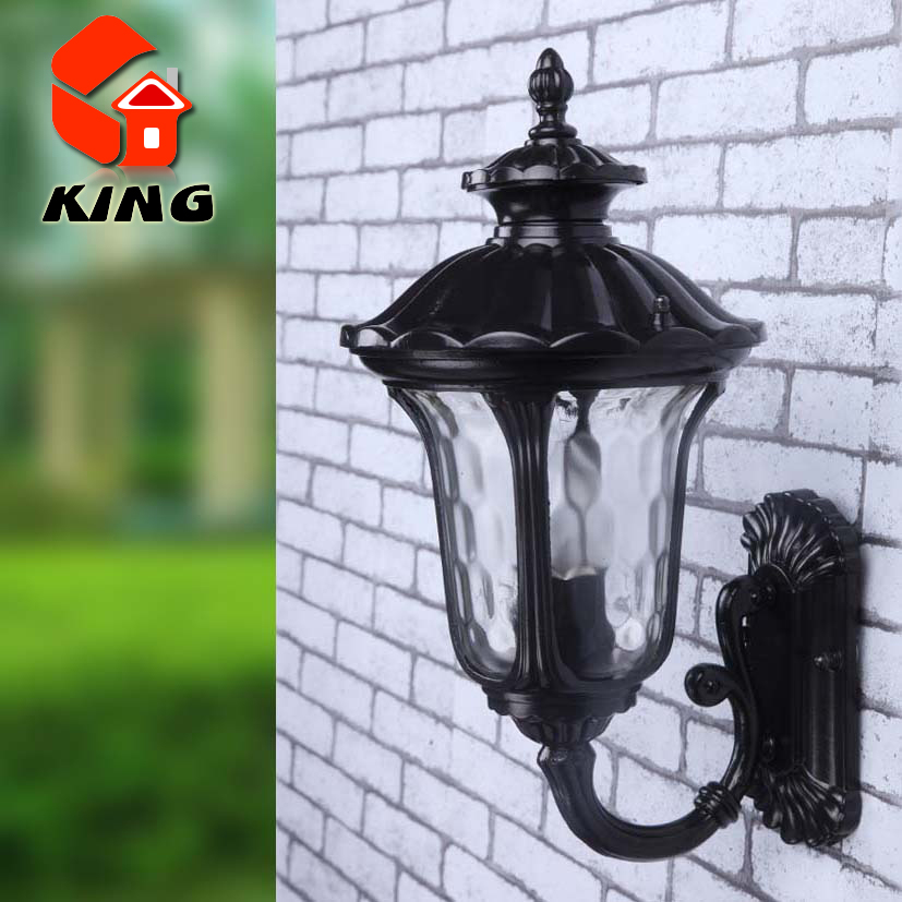 American Retro Outdoor Wall Sconce Lighting LED Wall lamp Waterproof ...