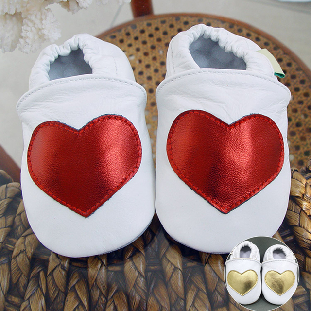Princess Newborn Baby Girls Wholesale Genuine Leather Sequined Sewing Anti-slip Soft Soled Lovely Infants First Walker
