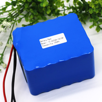 KLUOSI 12Vbattery 3S10P 11.1V12.6V 25Ah Lithium Ion Battery Pack with 60A Balanced BMS for Inverter / Sightseeing Car Etc