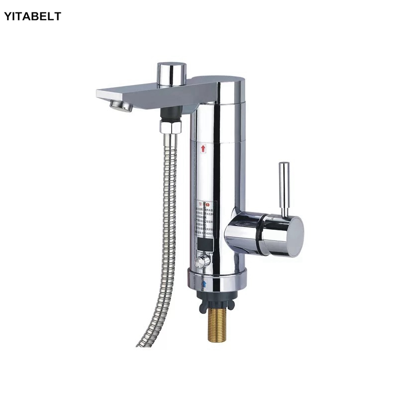 Electric Water Heater Instant Hot Kitchen Bathroom Dual-use Faucet Smart Frequency Conversion Shower Electric FaucetElectric Water Heater Instant Hot Kitchen Bathroom Dual-use Faucet Smart Frequency Conversion Shower Electric Faucet