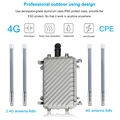 4G SIM Card Portable Wireless Router High Speed Outdoor 4G LTE Wireless AP Wifi Router POE wifi ruter