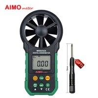 Aimometer MS6252A Handheld Digitale Anemometer Windsnelheid Luchtstroom Tester Air Volume Meten