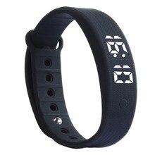 OTOKY умные часы светодиодный 3D светодиодный калорий Шагомер Спорт умный браслет наручные часы унисекс простой и модный #0126