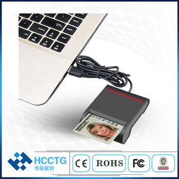 USB interface Access control Card Readers Smart Card Reader DCR30