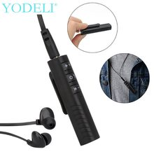 YODELI XT-2 Bluetooth Receiver AUX Audio 3.5mm Jack Wireless Receivers For Car Speaker Headphone Bluetooth Adapter Handsfree(China)
