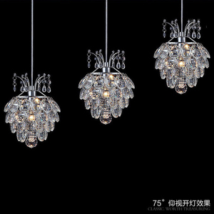 Image 4 - Hanging Lamp for Dining Room Crystal Pendant Light Suspension Cord Modern Pendant Light Fixtures Contemporary Pendant Lights led
