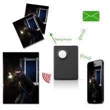 Mini sem fio 1.3 M Infravermelho Câmera de Vídeo de Segurança GSM Rastreador GPS PIR MMS Sistema de Alarme de Discagem Automática Home Office