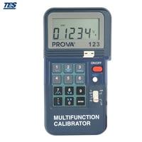 PROVA 123 Portable Multifunction Calibrator with 1 mA Resolution