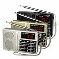 Портативный FM/AM/SW Радио Басов MP3 Музыкальный Плеер Мультимедийный Мини-Динамик Многоканальный Радиоприемник Y4405
