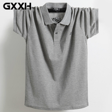 Новая летняя мужская рубашка поло для 130 кг жира больших и высоких мужчин марки Camisa Polo Masculina размера плюс M L XL XXL XXXL 4XL 5XL 6XL