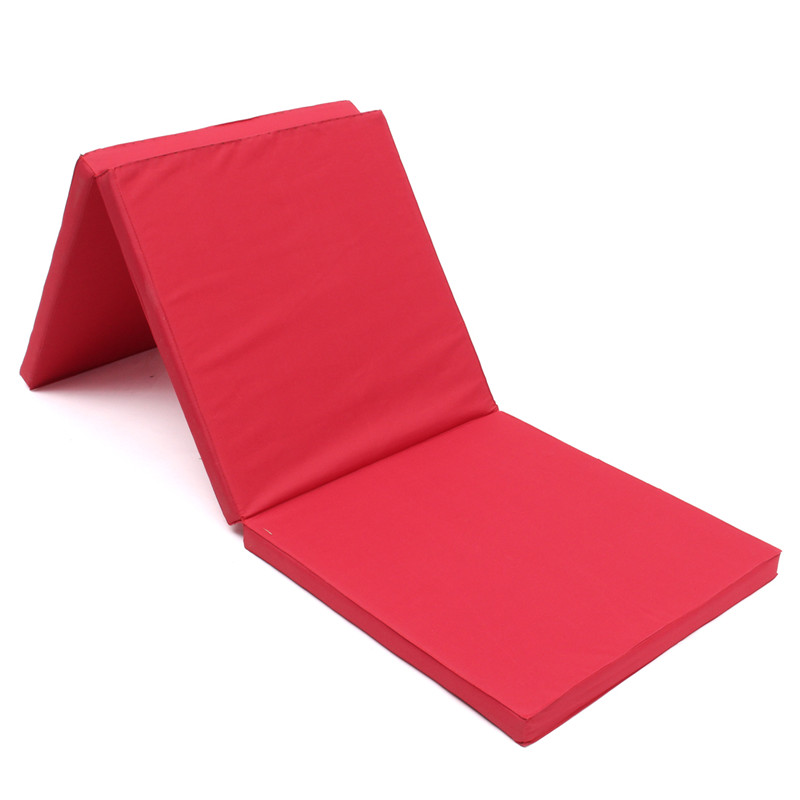 Folding Panel Gymnastics Mat Gym Exercise Yoga Mat Pad Yoga Blankets For Outdoor Training Body Building iunio yoga mats 15mm fitness mat for body building exercise pilates home gym training folding eva pad outdoor camping yoga mat