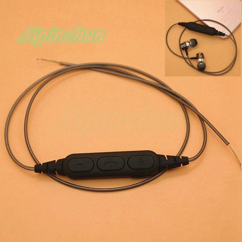 Aipinchun Diy Kopfhörer Audio Kabel Reparatur Ersatz Kopfhörer Draht Mit Mikrofon & Bluetooth Adapter Receiver Delikatessen Von Allen Geliebt