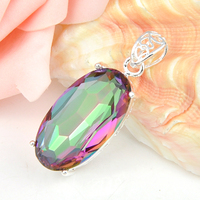 Free Shipping - High Quality Jewelry Natural colorful stone Gem Pendants For Women & Men Gift Wholesale P0551