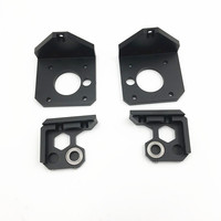 Prusa i3 MK3 3D printer upgrade aluminum Z mount kit metal Z axis bottom motor mount Z axis top kit