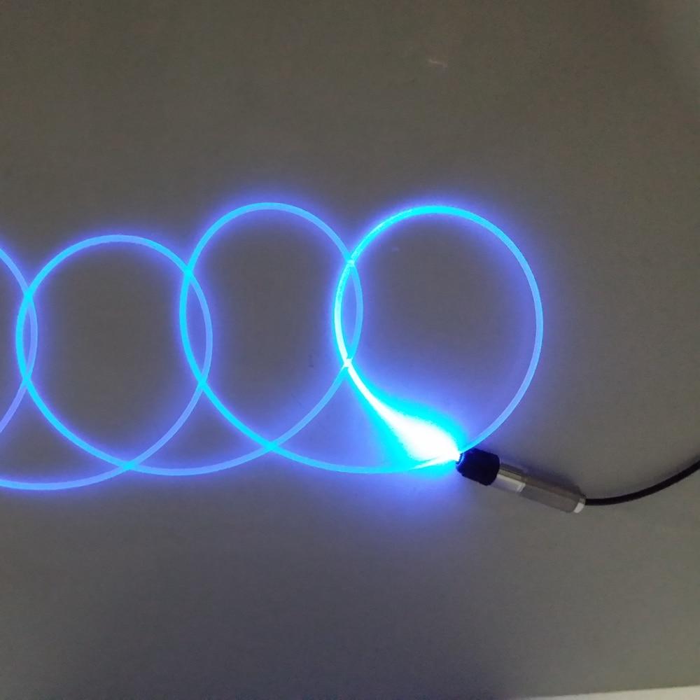 5meters 2 0mm Side Glow Fiber Optic Cable car light Night Lights
