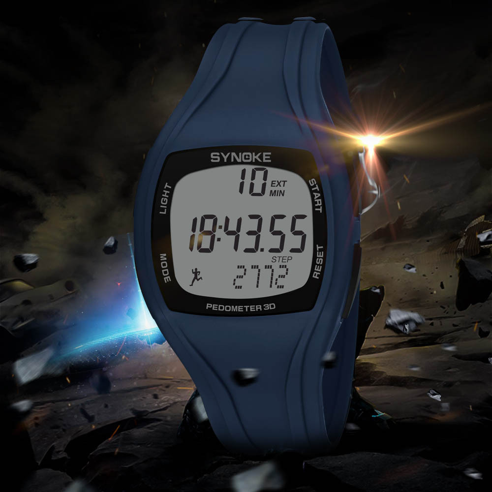 Sports Style Watches Digital Watch 50 Meters  Waterproof  High Quality Male Women Chronograph Double Time Wristwatches #40
