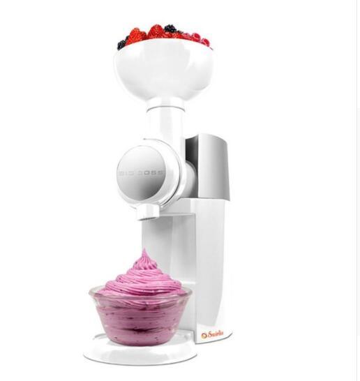 220V /110V Big Boss Swirlio Automatic Frozen Fruit Dessert Machine Fruit Ice Cream Machine Maker Milkshake Machine 110v 220v automatic frozen fruit dessert machine fruit ice cream machine maker milkshake machine with eu plug