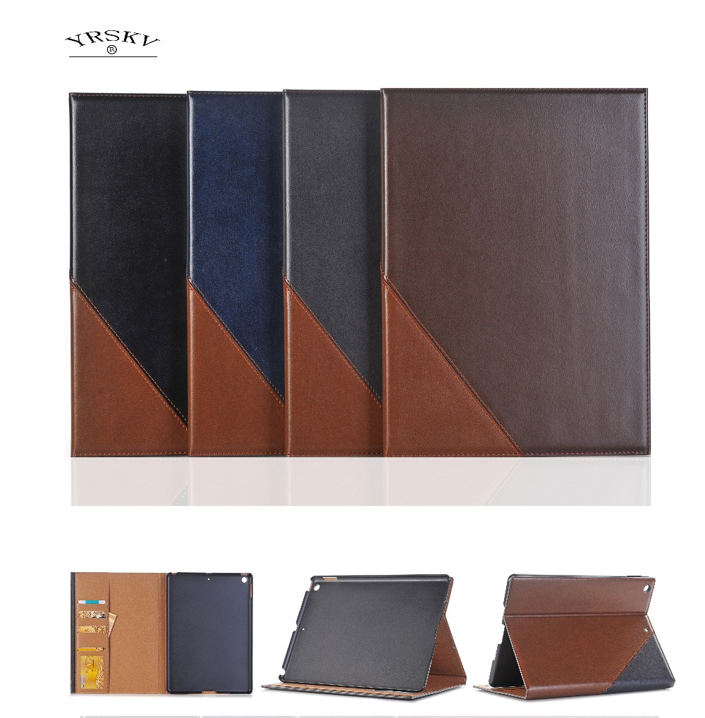 Case for iPad 9.7 inch 2017/2018 release Retro Cover A1822 A1823 A1893 A1954 YRSKV Smart sleep wake up Vintage PU Leather shell topsecret 2nd mini album wake up release date 2017 06 08 kpop