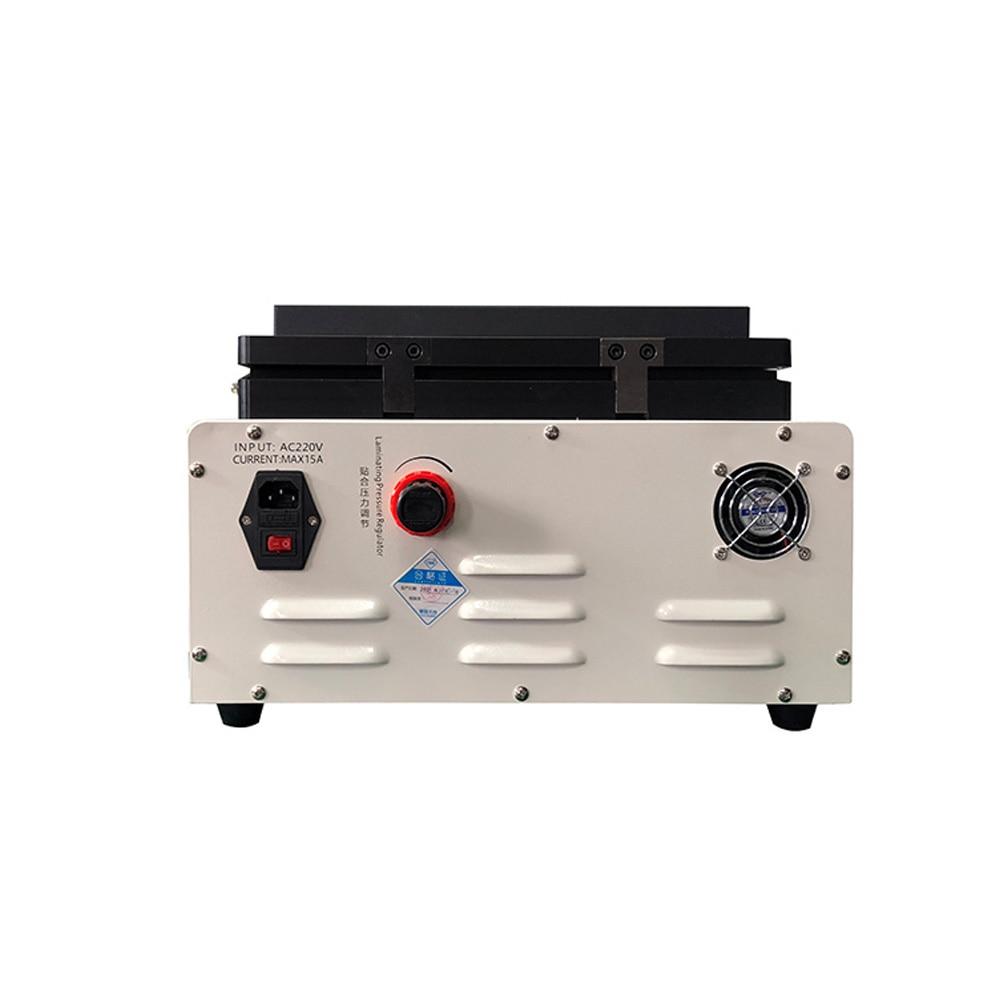 TBK-808 automatinis burbulų šalinimo įrenginys OCA vakuuminis - Įrankių komplektai - Nuotrauka 6