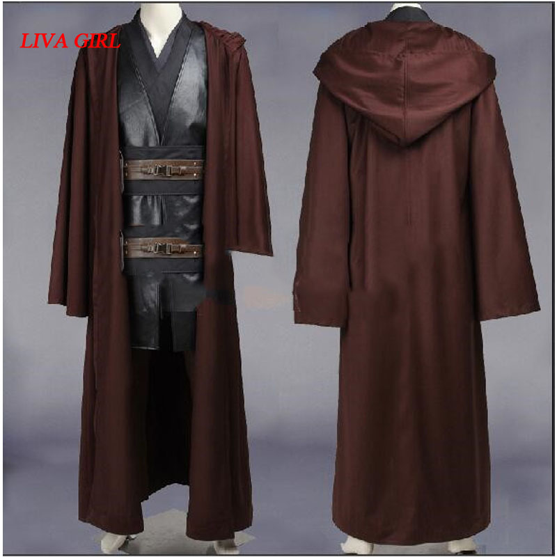 2017 New Style star wars costume adult anakin skywalker cosplay Halloween Carnival party costume anakin skywalker costume
