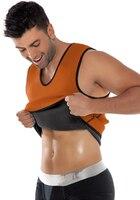 Men Slimming Ultra Sweat Body Shapers Vest Neoprene Waist Trainer Corsets Men Slimming Belt Fajas Fajas