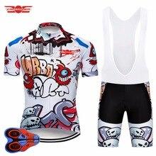 Забавный комплект трикотажных шорт для езды на велосипеде Crossrider 2020, комплект одежды для езды на горном велосипеде из дышащего материала, Мужская одежда для езды на велосипеде