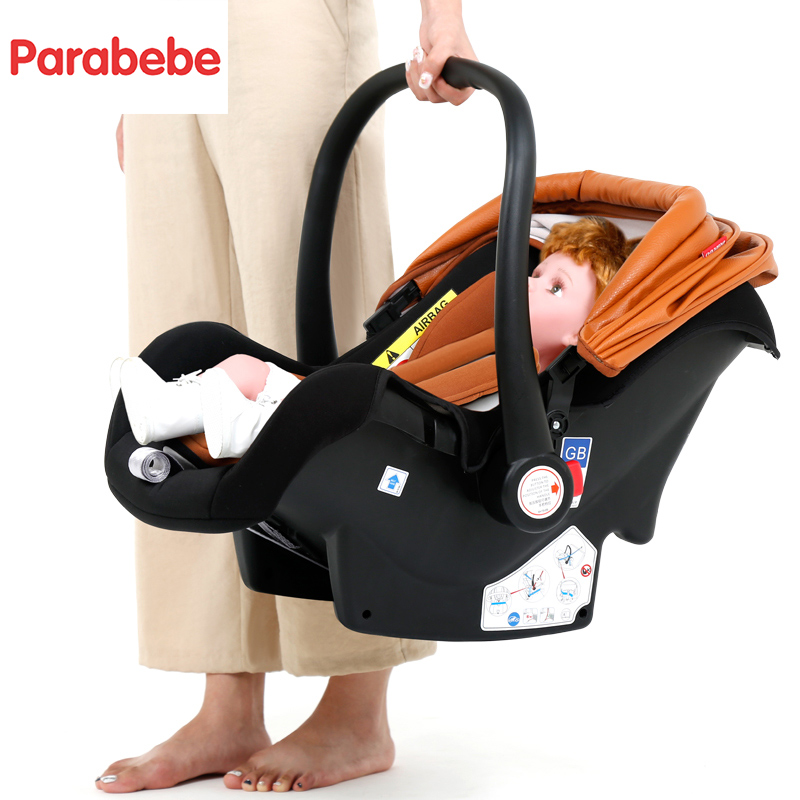 14kg Luxury Baby Stroller 3 In 1 New Leather Stroller Baby Car Seat