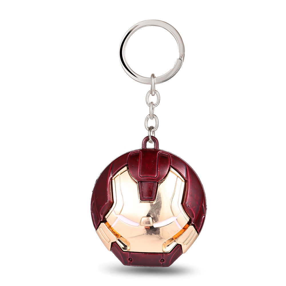 MS JEWELS Movie Show Jewelry The Avengers Iron Man Keychain Metal Key Rings For Gift Chaveiro Key Chain