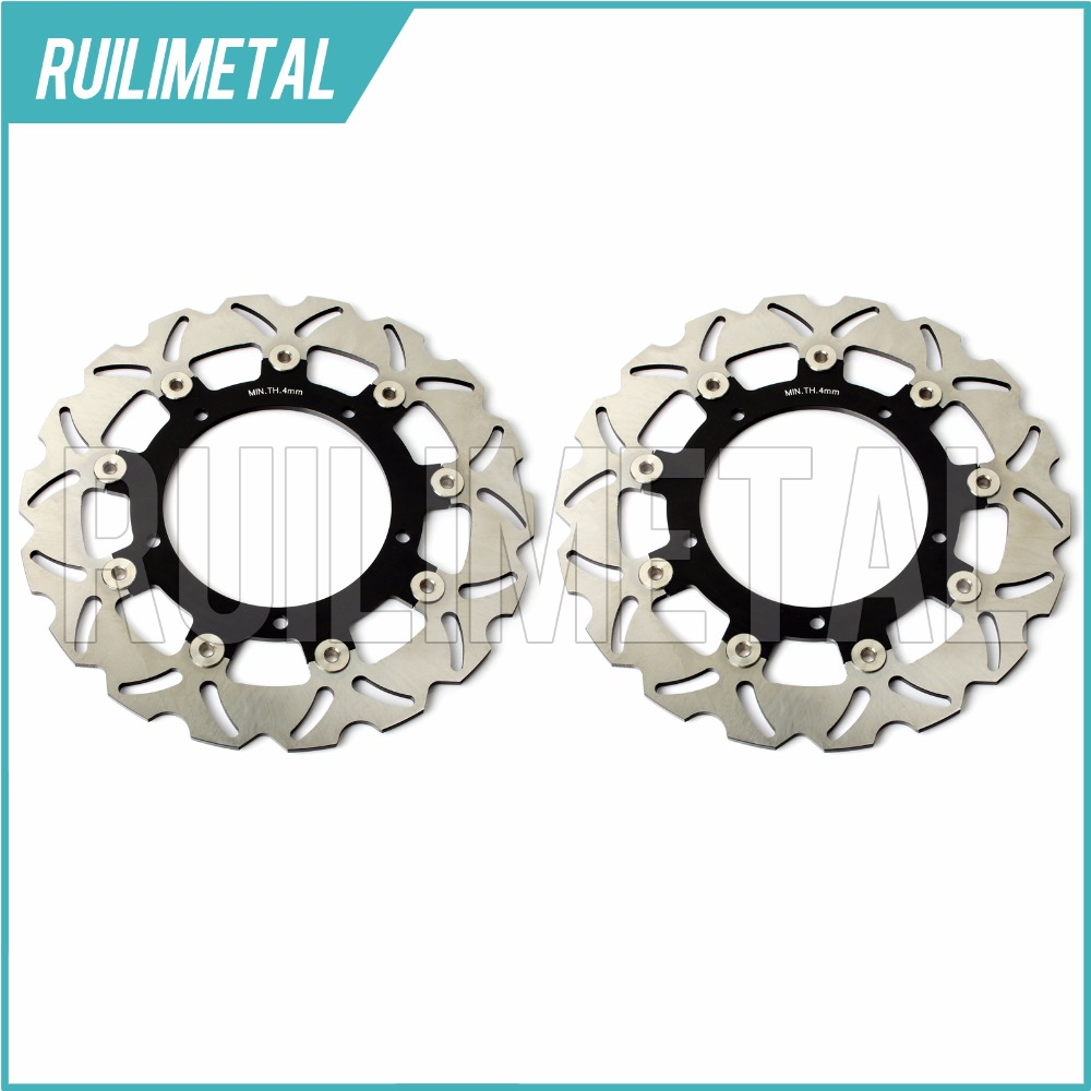 Front Brake Discs Rotors for YAMAHA YZF R6 04 FZ6 600 FZ6 FAZER S2 600 08 XJ6 DIVERSION 600 09 MT03 660 11 MT-09 850 ABS 15