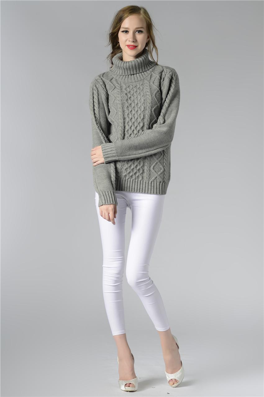 HTB1YRUISpXXXXX9XXXXq6xXFXXX7 - FREE SHIPPING ! Sweater Long Sleeve Turtleneck JKP196