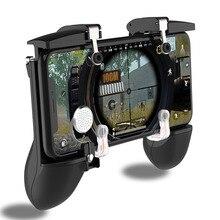 Мобильный PUBG контроллер Джойстик для PUBG игра ручка триггер геймпад пожарная кнопка для iOS Android консоль 4 пальца периферийные устройства