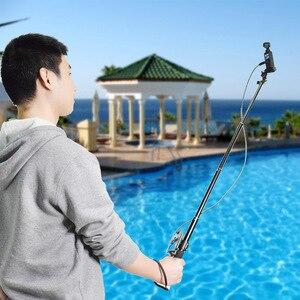 Image 2 - Palo di estensione Selfie Bastone per DJI OSMO Tasca 2 Handheld Gimbal Stabilizzatore con il Telefono Staffa di Montaggio A Morsetto Cavo per il Tipo C