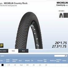 Michelin MTB горный велосипед шины для велосипеда COUNTRU ROCK 26/27*1,75 ультра легкие высококачественные шины велосипед аксессуары детали