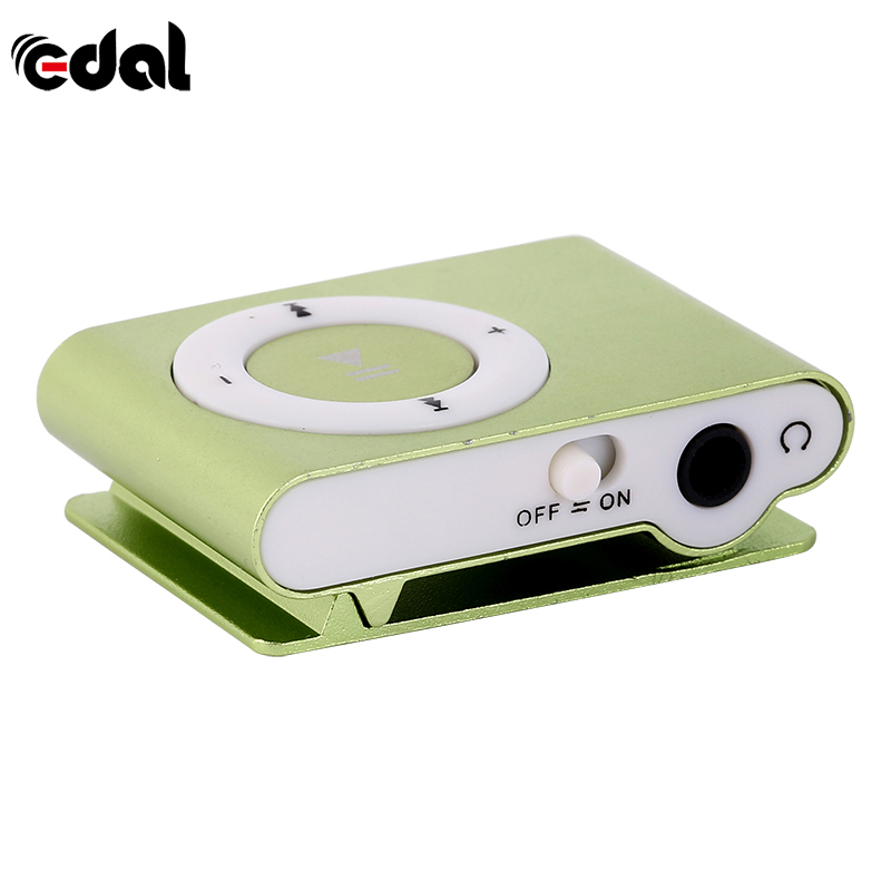 New Protable Mini Mp3 Music Player Mp3 Player Support Micro TFCard Slot USB MP3 Sport Player USB Port With Earphone For Iphone