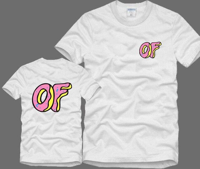 d3dc702ed810 2015 new Odd Future donuts OFWGKTA GOLF WANG cat earl HIPHOP skateboard  sport fitness men women brand hiphop t shirt men HBA