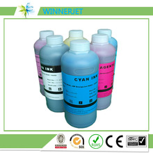 6 liters/lot inkjet refill for hp 9000/10000 printers, eco-solvent ink with high quality hp791 cartridge