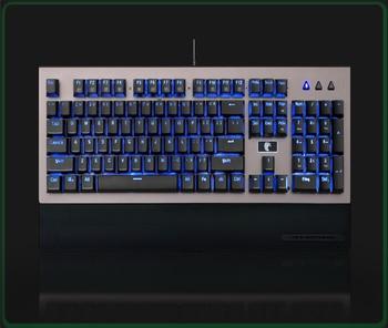 HUO JI 104 Keys USB Gaming Keyboard with LED Backlit Gaming Keyboard for PC desktop