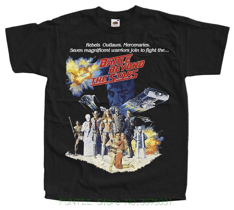 Лидер продаж Для мужчин футболка мода Битва за звезды V2, постер фильма, майка черный, темно-все размеры от S до 5xl