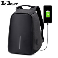 15 Inches Multifunction USB Charging Men Laptop Backpacks For Teenager Fashion Male Mochila Travel Backpack Anti