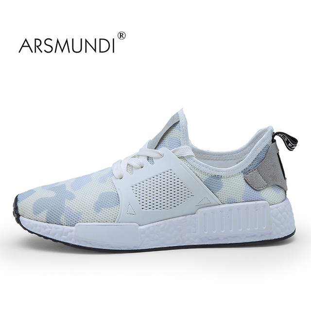 431ec7430 ARSMUNDI Original Men Running Shoes ZY-021 Summer 2018 Adult White Yeezy  Shoes Air Mesh Breathable Speed Running Shoes For Men