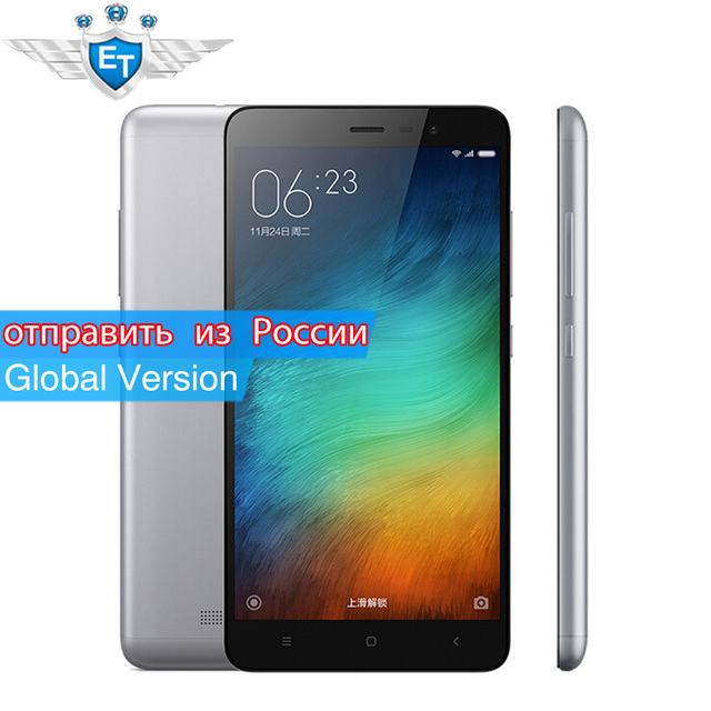 Global Version Xiaomi Redmi Note 3 Pro Prime Special Edition Cell phones B4/B20 Snapdragon 650 5.5 Inch Metal Body FCC CE
