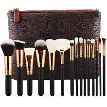 HOT BRAND 8/12/15 PCS ROSE GOLDEN COMPLETE MAKEUP BRUSH SET Professional Luxury Set Make Up Tools Kit Powder Blending brushes