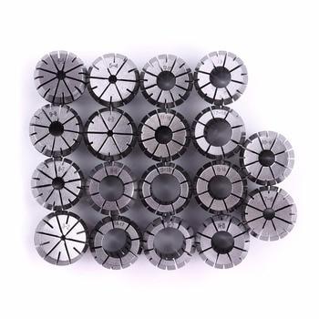 Hot 9pcs/Set 65Mn ER32 Chucks clamping size 4mm-20mm diameter 32mm length 40mm High precision CNC Spring Collets High Quality